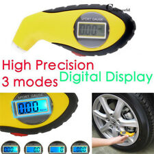 LCD Digital Car Motorcycle Tire Tyre Air Pressure Gauge Tester Tool For Auto