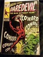 Daredevil #55 FN+ Condition Marvel Comics 1964 Series