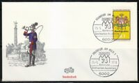 Germany 1978 cover SST Sonderstempel Frankfurt am Main Naposta'78 Ausstellung