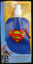 Shark Skinzz Justice League Superman Reusable Folding 12 oz bottle 012005