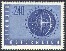 Austria 1956 Power Conference/Energy/Nuclear/Atomic/Atoms/Science 1v (n26887)