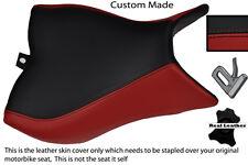 BLACK & DARK RED CUSTOM FITS HONDA CB 1000 R 08-13 FRONT RIDER SEAT COVER