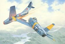 """""""Crazy MiG"""" Roy Grinnell Print Signed by Korean War Ace Capt. Clyde Curtin"""