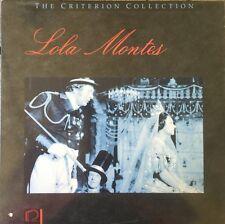 Lola Montes - Criterion Collection - Laserdisc
