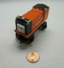 THOMAS & FRIENDS Wooden Railway RUSTY THE TRAIN ENGINE Orange Shows Wear 2002