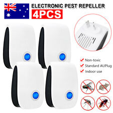 Ultrasonic Pest Repeller Electronic Mosquito Killer Bug Insect Cockroach Reject