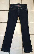 Uniqlo Women's Dark Denim Skinny Low Rise Stretch Jeans Sz. 24