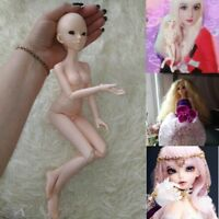 Fashion 1/4 BJD Girl Doll Resin Material Beautiful Blank Body DIY Dolls Handmade