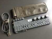 Hand Made Leather Case For Teenage Engineering OP–Z Sequencer - Pebble Brown