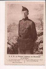 Vintage Postcard King Leopold III