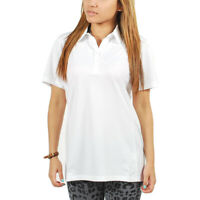 PUMA Golf Tech Moisture Management Polo Shirt - White - Women's size XS