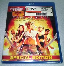 DOA: Dead or Alive (Blu-ray, 2010, Canada) Special Edition NEW
