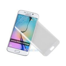 For Samsung Galaxy S6/S7 Edge + Full Cover Tempered Glass Screen Protector+ Tool