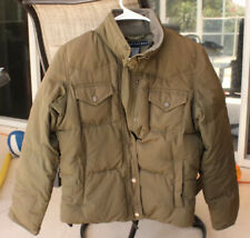 Polo Ralph Lauren Men's Puffy Coat Jacket Olive Green Size Small