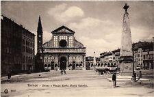 CPA FIRENZE Chiesa e Piazza Santa Maria Novella . ITALY (492084)