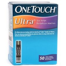 Johnson & Johnson One touch ULTRA  50 Test Strips for Onetouch ULTRA 2