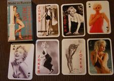 Marilyn Monroe playing cards nude Russian Spielkarten kartenspiel 1