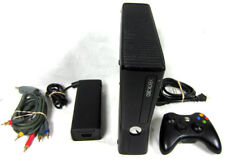 New listing Microsoft Xbox 360 S 1439 Slim System Complete Video Game Console - Black