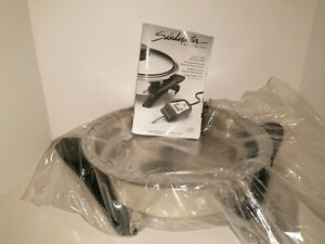 Saladmaster 12 in. (30.5cm) Electric Oil Core Skillet with Cover.  SA012OCU NEW