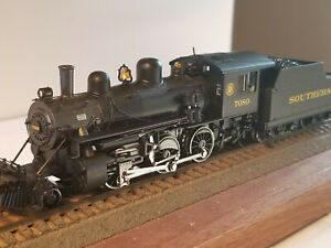 HO Bachmann Southern Alco 2-6-0 Steam Locomotive w/Sound & DCC #7080 runs great