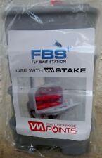 EZ Strike Silver Fly Flies Bait Stations Pest Control QTY 4!!