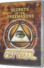 Secret History Of The Freemasons - Freemasons On Trial New Sealed DVD