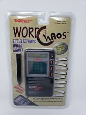 Tiger Electronics Word Chaos Game New in Package