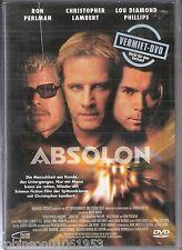 Science Fiction DVD  Movie Film  Absolon mit  Christopher Lambert + Ron Perlman