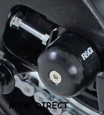 Suzuki GSX-S1000 2015 - 2017 FA R&G Racing black swingarm axle crash protectors
