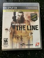 Spec Ops: The Line -- Premium Edition (Sony PlayStation 3, 2012) TESTED