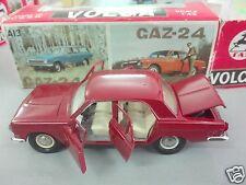 1986 GAZ-24 Volga ГАЗ-24 #A14 made in the USSR 1:43 metallic Model