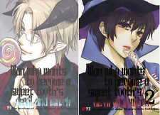 Hetalia Axis Powers Doujinshi America x Japan Ameripan (devil and witch 1+2) SET