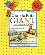 Winnie-The-Pooh: Winnie the Pooh's Giant Lift-the-Flap by A. A. Milne (1997, Har