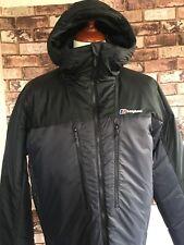 Montane prism pour homme gris pertex coupe-vent à capuche à capuche chaud sport veste haut