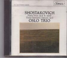 Oslo Trio-Shostakovich  cd album