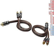 Sinus Live yx-2 Cinch Y-distributore RCA 50cm Cinchverteiler CONFEZIONE DOPPIA