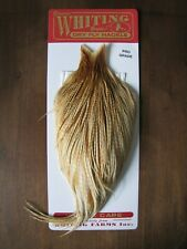 Fly Tying Whiting Pro Rooster Cape Barred Medium Ginger #G