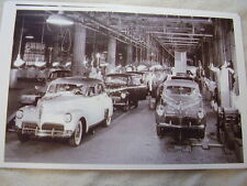 1941 STUDEBAKER  ASSENBLY LINE11 X 17  PHOTO /  PICTURE
