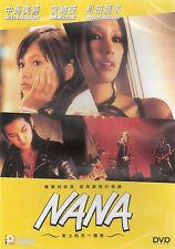 Nana DVD Mika Nakashima Aoi Miyazaki Ryuhei Matsuda Japanese NEW R3 Eng Sub