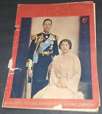 THE CORONATION of the King Queen Published George Newnes ENGLAND 1953 FREE S/H