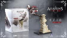 Assassins Creed - Ezio Auditore Leap of Faith Statue *NEW!* + Warranty!