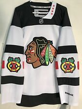Reebok Premier NHL Jersey Chicago Blackhawks Team White Stadium Series sz XL