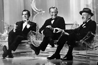 Bing Crosby Milton Berle Jimmy Durante Rare11x17Poster Sitting Together On Stage
