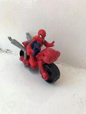 Marvel Super Hero Squad Spiderman + Vélo Action Figure Hasbro aventures