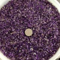 50g Mini Lucky Healing Natural Amethyst Point Quartz Crystal Stones Rock Chips
