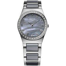 50 m (5 ATM) Armbanduhren aus Edelstahl mit Saphirglas für Erwachsene