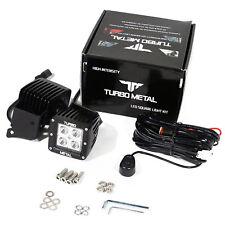 TurboMetal® 2 x 12W LED Flood Light/A-Pillar Mount Bracket For 07-16 Wrangler JK