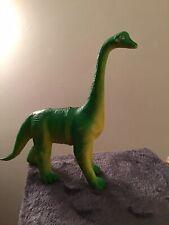 Vintage 1985 Imperial Brontosaurus Dinosaur Figure Toy Green Apatosaurus