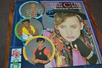 CULTURE CLUB     COLOURS BY NUMBERS    LP  VIRGIN   1983   V2285   LYRIC SHEET