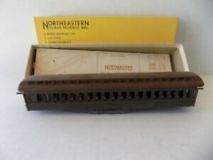 NORTHEASTERN SCALE MODES HO 61 FT. OPEN END CAR KIT UNFINISHED